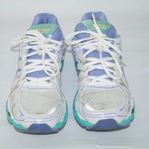 Asics Women's Gel Nimbus 16 White Purple size 8.5